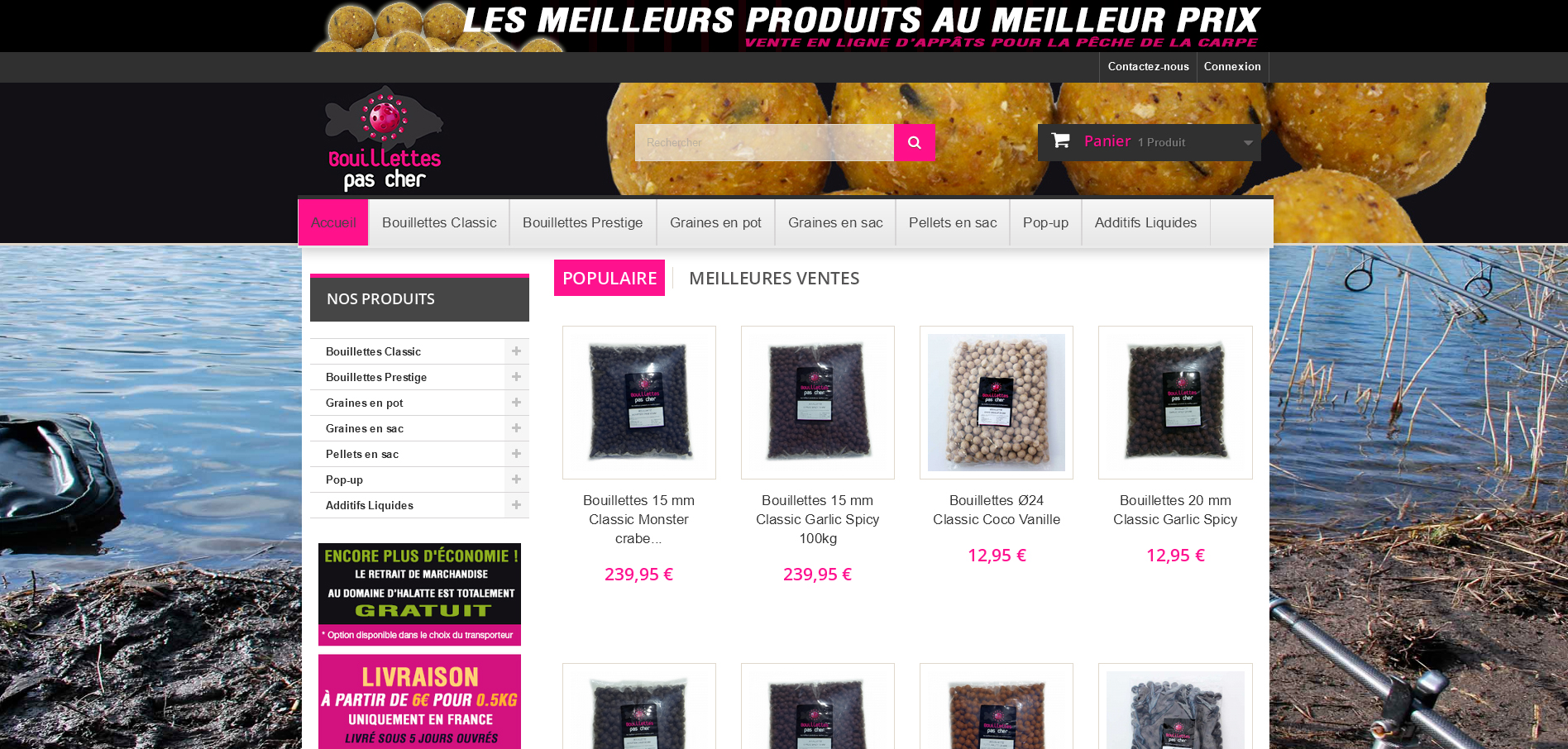 Boutique en ligne BPC France